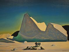 Rockwell Kent - Artist in Greenland - Baltimore art Museum.