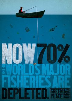 Depleting fisheries poster - when should we start conserving our oceans?  (April 6, 2014)