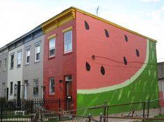 Watermelon building