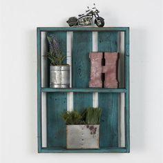 #Jane.com - #(del)Hutson Designs Reclaimed Wood Bathroom Shelf - AdoreWe.com