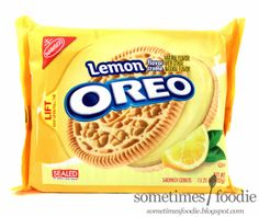 Lemon Oreos.  Say what?!! I HAVE to try these.