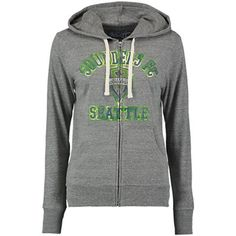 Women's Seattle Sounders FC Touch by Alyssa Milano Heather Gray Training Camp Tri-Blend Hoodie