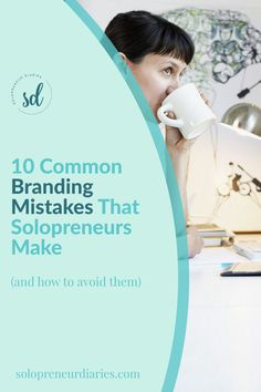 Wondering how to build a brand online? Click through to make sure that you avoid these 10 common branding mistakes. | Business Ideas | Business Branding Ideas Marketing Business Website, Online Business, Content Marketing, Affiliate Marketing, Brand Guide, Branding Ideas, Social Media Pages, Online Entrepreneur, Marketing Strategies