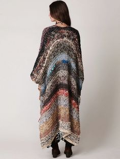 Free People. (Another good idea for the robe I want to knit. Kimono style using the ends from all my projects! PS)