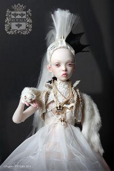 Елена и Екатерина Поповы. Авторские куклы.