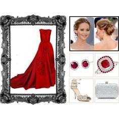 """Red Carpet Contest - 2"" by voltinimiriam on Polyvore"