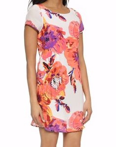 ed62396c3a6e NEW YUMI KIM  202 Floral Printed Dress Elana Silk Mini Classic Shift Small  NWOT  YumiKim