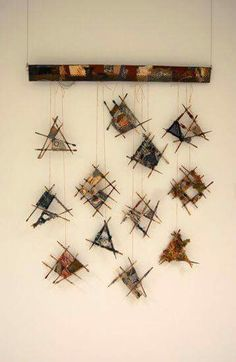 """Scrapcatchers"" by Joanne Young Textiele kunst"