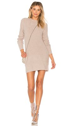 0204fec39f Shop for Lovers + Friends Ash Sweater Dress in Light Heather Grey at REVOLVE.  Free