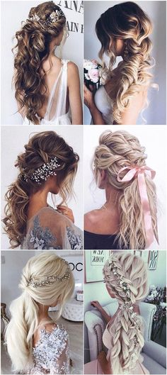 6 trendy Thick voluminous messy Fishtail Braid Loose double Braids Long Bridal H. - 6 trendy Thick voluminous messy Fishtail Braid Loose double Braids Long Bridal Hairstyle for weddin - Fishtail Braid Wedding, Messy Fishtail Braids, Fishtail Hairstyles, Loose Braids, Wedding Hairstyles For Long Hair, Diy Hairstyles, French Braids, Wedding Braids, Loose Updo