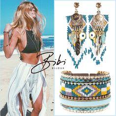 #bibibijoux #bibi #bijoux #indylynn #swarovski #handmade #sisters #turquoise