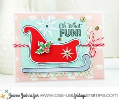 Oh What Fun! by akeptlife - Cards and Paper Crafts at Splitcoaststampers