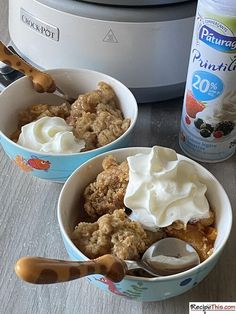 Slow Cooker Peach Cobbler. You will love this traditional peach cobbler recipe that is made with fresh peaches and a real suet cobbler topping. Only problem is that you will struggle to have just one serving. This is classic peach cobbler at its best that is worthy of a mention in an old school Bero or Mrs Beeton cookery book. Best of all, you will love its simplicity and how you can dump the ingredients into the slow cooker and come back to perfectly cooked slow cooker peach cobbler.