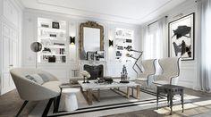 Een preppy chique appartement in Parijs… Of toch niet! - Roomed