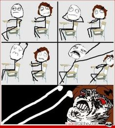 I hate it when the person in front of you stretches with their arms in your face! lol