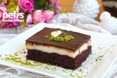 Şerbetli Çikolata Kare Tatlısı - Nefis Yemek Tarifleri