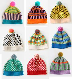annie larson hats – Knitting patterns, knitting designs, knitting for beginners. Knitted Hats Kids, Knitting For Kids, Knitting Projects, Baby Knitting, Knitting Patterns, Crochet Patterns, Beginner Knitting, Knit Hats, Look Fashion