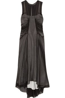 Reed Krakoff Gathered silk-chiffon dress | NET-A-PORTER
