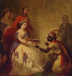 1861 Queen Victoria giving the Bible to an African Chief by Thomas Jones Barker (Hermitage)