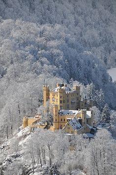 Schloss Hohnschwangau, sul da Alemanha. casa de inf�ncia de Ludwig