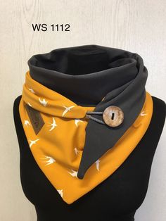 Designer Scarves, Textiles, Winter Accessories, Mustard Yellow, Vegan Leather, Scarf Wrap, Headbands, Sewing Patterns, Triangle