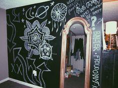 chalkboard wall //