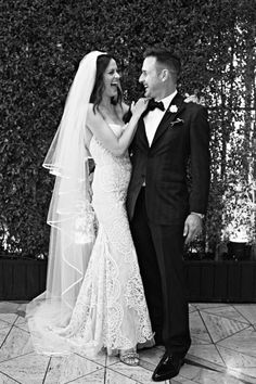 David Arquette married entertainment host Christina McLarty -- the mother of his infant son Charlie Arquette -- on April in Los Angeles. The actor's daughter Coco Arquette, from his first marriage to Courteney Cox, performed at the reception. Groom Wear, Groom And Groomsmen, Bride Groom, Used Wedding Dresses, Wedding Dress Sizes, Celebrity Couples, Celebrity Weddings, Celebrity Gossip, David Arquette