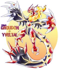 Primal Groudon X Yveltal by Seoxys6 on DeviantArt