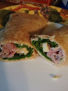 How to Make Lunch Wraps! These are so good and they only need a few basic ingredients!