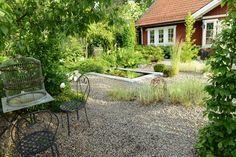A lovely countryside garden in Sweden, Summer 2015