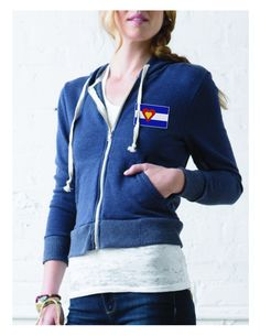 For her. Wear it like you love Colorado. 10% of profits from this purchase will go to a Colorado charity.