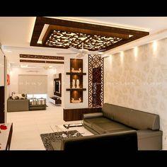 For NCC urban gardenia- Locatio Living Room Designs India, Living Room Wall Designs, Living Room Partition Design, Pooja Room Door Design, Room Partition Designs, Door Design Interior, Hall Interior, House Ceiling Design, Ceiling Design Living Room