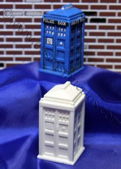Paint it yourself Dr Who TARDIS Casting by Cesco on Etsy, $3.00