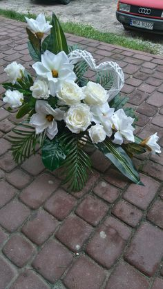 Cemetery Flowers, Bouquet, Outdoor Flowers, Valentines Flowers, Funeral Flowers, Arte Floral, Fall Flowers, Container Plants, Ikebana