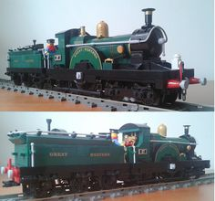 GWR Dean Single 4-2-2 | Flickr - Photo Sharing!