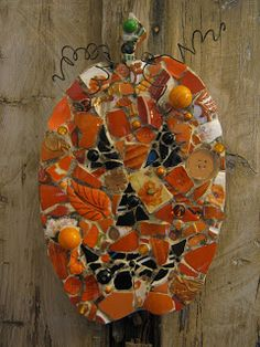 Eccentricities, Mosaics by Kelly Aaron: Every Day is Halloween