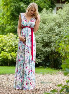 I would wear this even though it's maternity. ... Anastasia Maternity Gown Long…