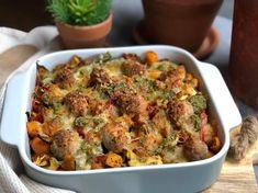 Met deze Italiaanse ovenschotel met krieltjes en pesto zet je een gezonde, simpele maar bovenal heerlijke maaltijd op tafel.