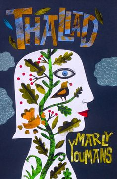 Clive Hicks-Jenkins artwork. Cover for 'Thaliad' by Marly Youmans, Phoenicia Publishing, Montreal