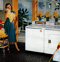 Cleaning Schedule - supposedly takes 20 minutes each day to tackle small ., Cleaning Schedule - supposedly takes 20 minutes each day to tackle small . Vintage Laundry, Vintage Kitchen, Vintage Ads, Vintage Images, Vintage Homes, Vintage Soul, Vintage Prints, Vintage Housewife, 50s Housewife