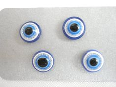 Blue white evil eye studs, Evil eye earrings, Greek mati studs, Minimalist jewelry, Best friend gift, Summer trends, Protection jewelry. Studs, Blue And White, Trending Outfits, Unique Jewelry, Handmade Gifts, Etsy, Vintage, Kid Craft Gifts, Stud Earring