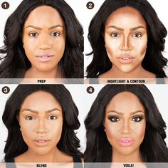 nose contouring black girls - Google Search