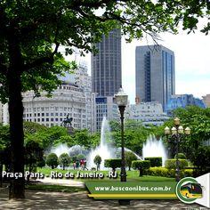 Praça Paris - Rio de Janeiro - RJ