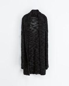 DŁUGI SWETER - Swetry - KOBIETA | ZARA Polska