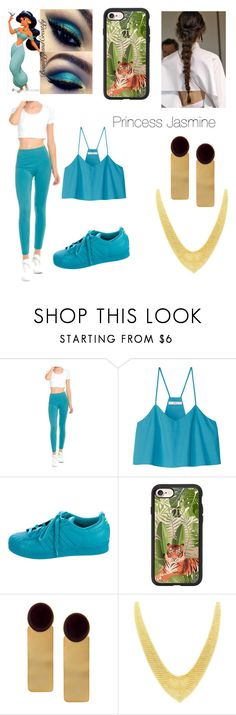 """#Disney Jasmine"" by taylor-913 ❤ liked on Polyvore featuring TIBI, adidas, Casetify, Silhouette and Tiffany & Co."