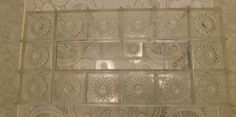 Vintage Clear/Acrylic Plastic Rectangle Tissue Box Cover with Starburst Design by RadiogirlCarolyn on Etsy
