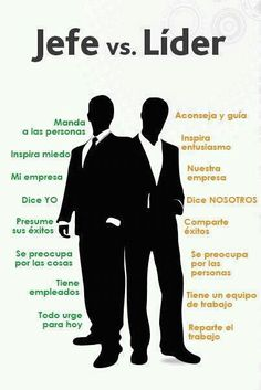 Jefe vs. Líder... SI, SOY UN LIDER