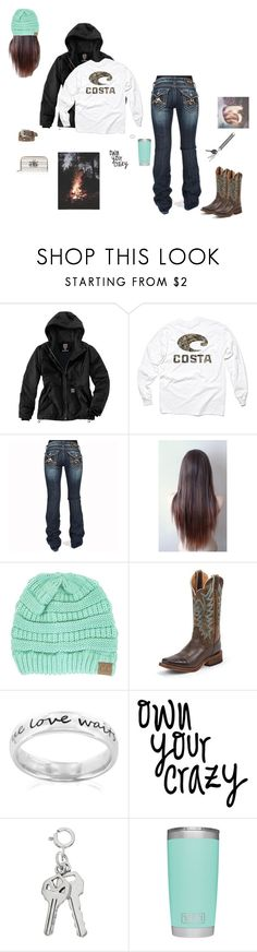 """Or This...?"" by kansascountrygirl ❤ liked on Polyvore featuring Carhartt, Realtree, Miss Me, Ariat, Justin Boots, West Coast Jewelry and Cherokee"