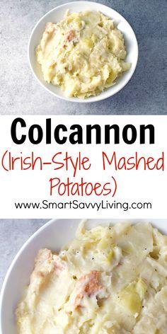 Colcannon (Irish-Style Mashed Potatoes) Recipe