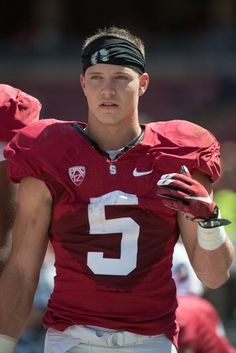 Christian McCaffrey is probably the most beautiful person ever. Football Boys, Football Players, College Football, Love My Boys, Pretty Boys, Christian Mccaffery, Stanford Football, American Football League, Sexy Men